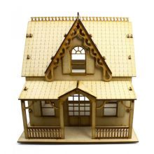 Anne Shirley Wood Wooden Character Dolls House Self Assembly kit - 3 sizes